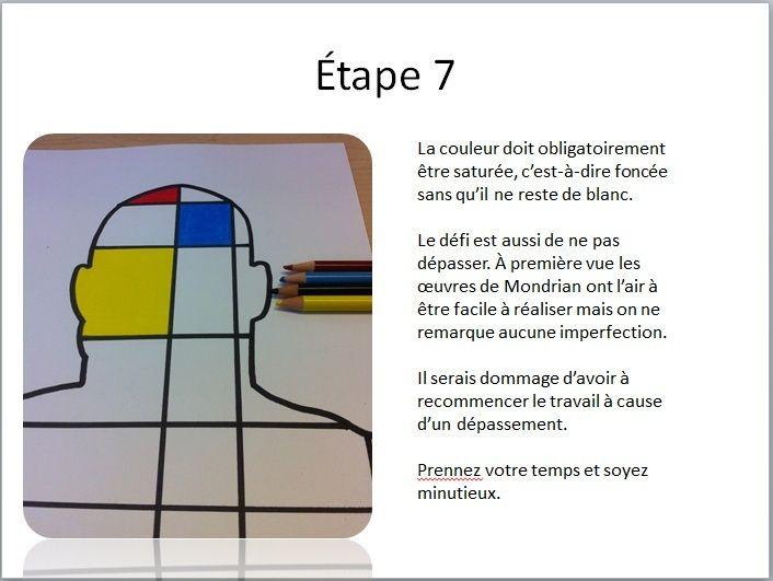 À LA MANIÈRE DE MONDRIAN  Mondri16