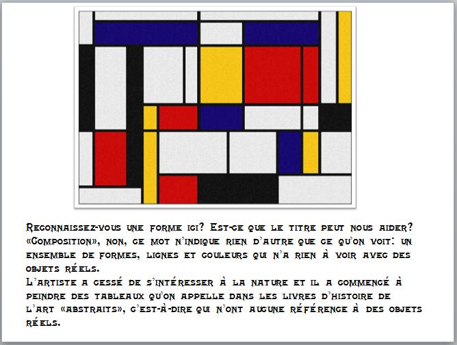 À LA MANIÈRE DE MONDRIAN  Piet_410