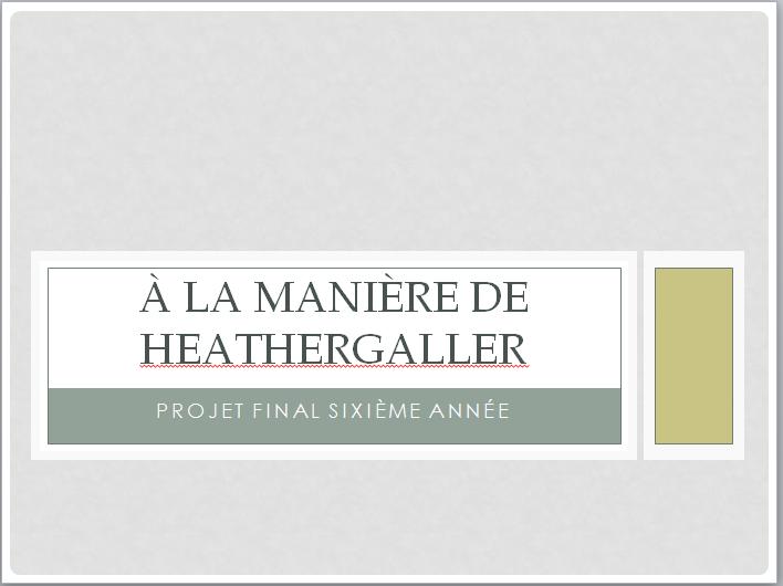 CHIEN (À LA MANIÈRE DE HEATHER GALLER) Un11