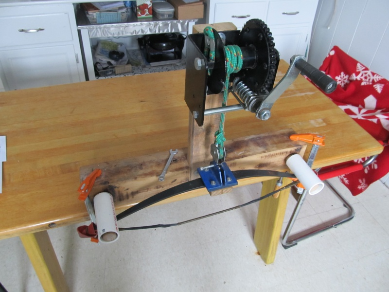 Worm Drive Bow Press String20