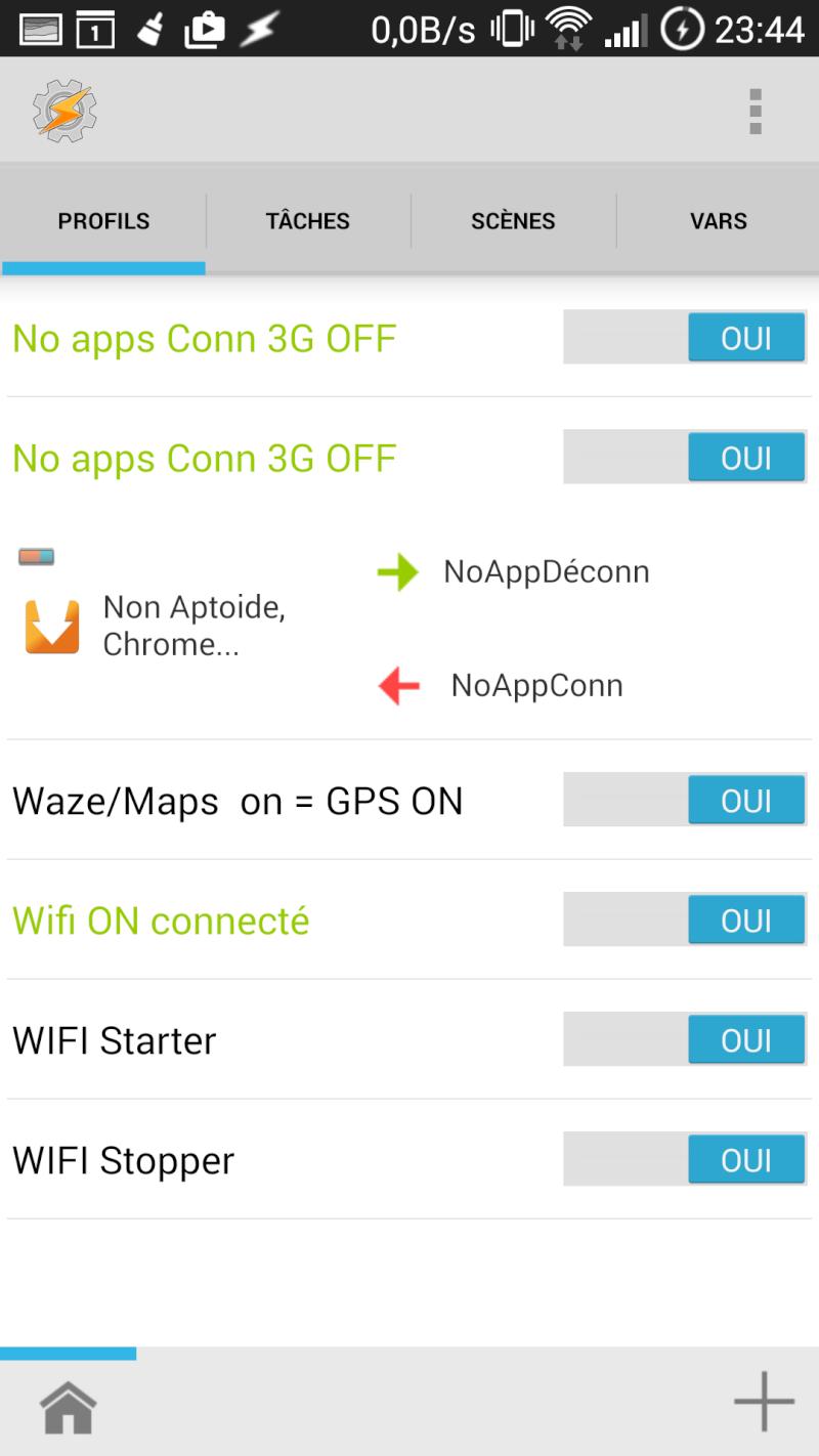 [APP] Tasker : Personnaliser et automatiser des tâches sous Android [Trial/Payant] - Page 6 Screen10