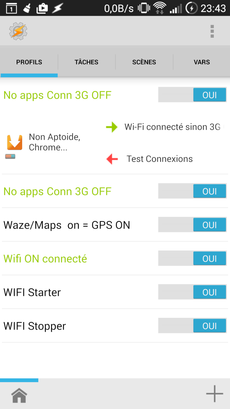[APP] Tasker : Personnaliser et automatiser des tâches sous Android [Trial/Payant] - Page 6 Screen15