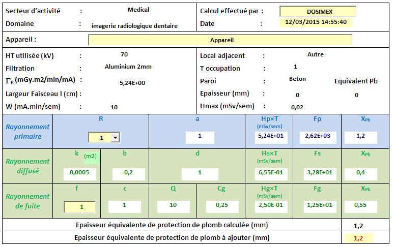 Norme NF C 15-160 pour un rétroalvéolaire Retro10