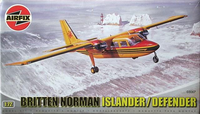 Britten-Norman Islander, 1/72 Airfix 13203010