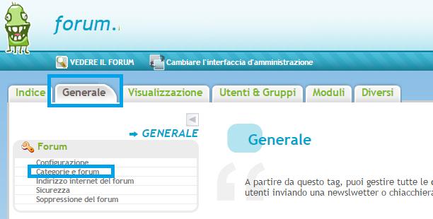 I permessi per forum e subforums Alfa10
