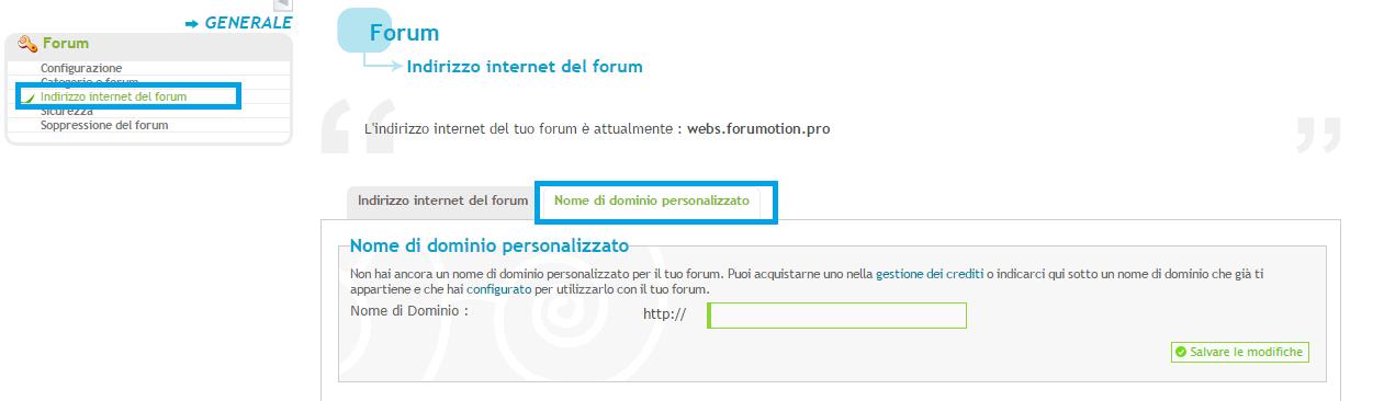[CNAME] Reindirizzare un nome di dominio esterno di tua proprietà Domini10