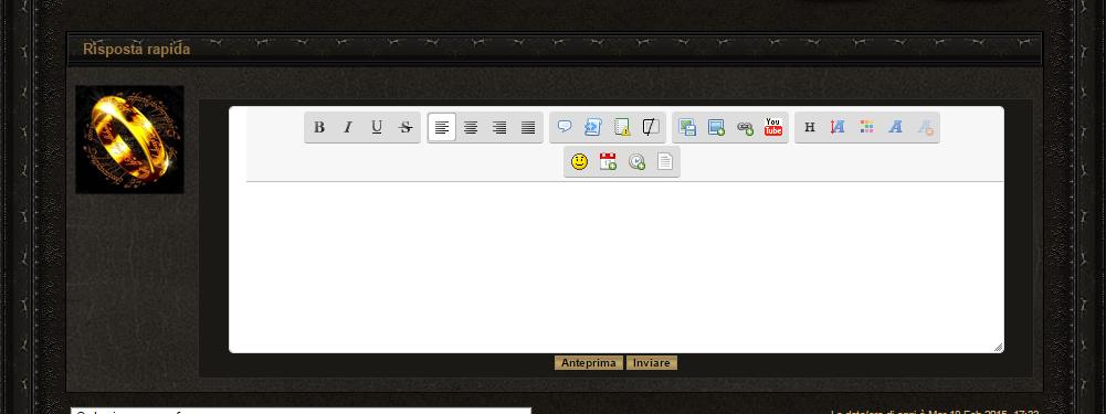 Personalizzare box Risposta rapida Editp10