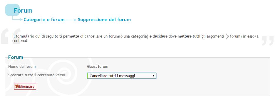 Eliminazione utenti/messaggi Elimin10
