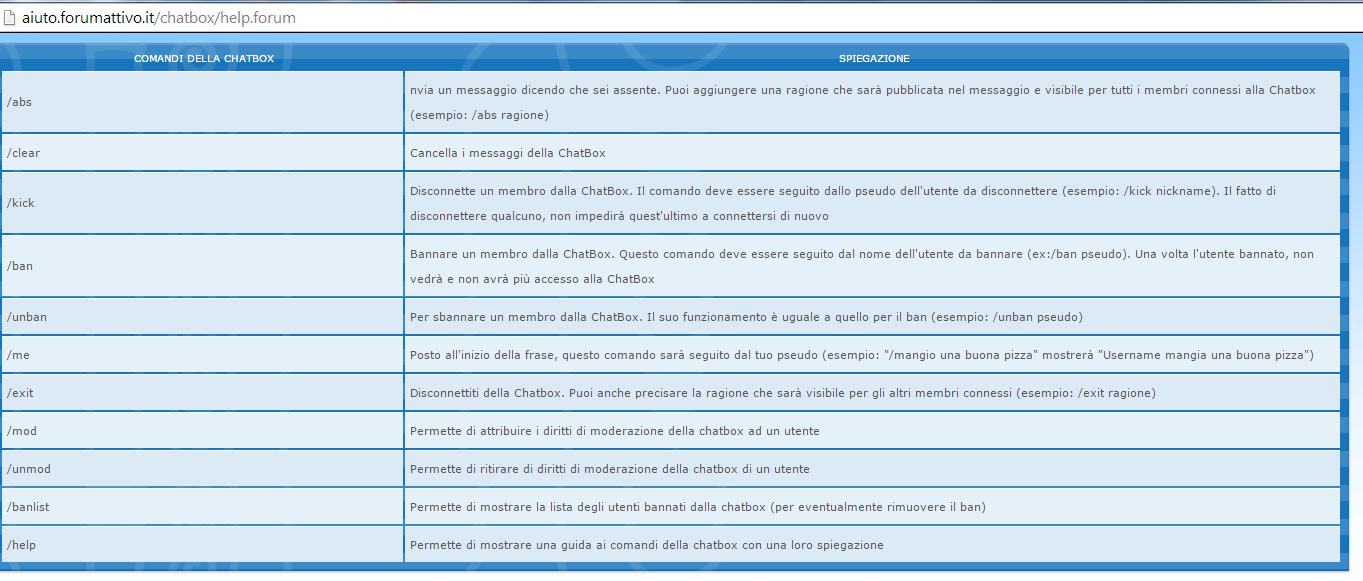 Chatbox: un nuovo aggiornamento per voi! Explan10