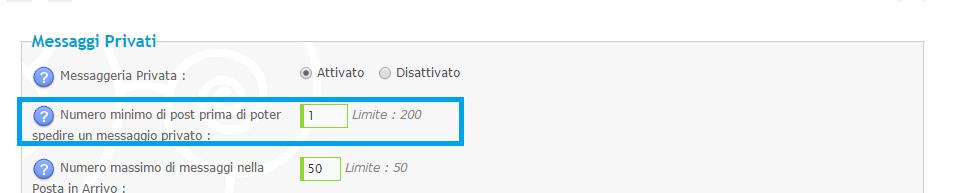 """""""Messaggi privati"""" Bottone non compare nel menù navigazione Hab11"""