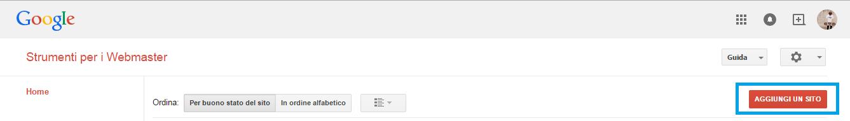Strumenti google per webmaster su Forumattivo! Step110
