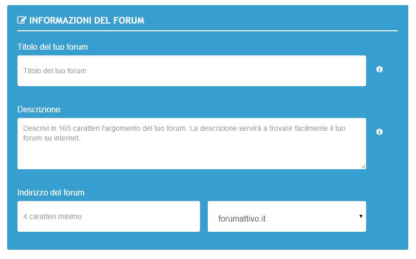 Come iniziare al meglio con il tuo forum T110