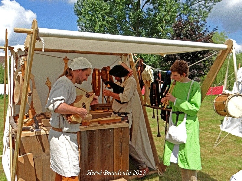 Fête médiévale, Les Aynans (Haute-Saône) Dsc06812