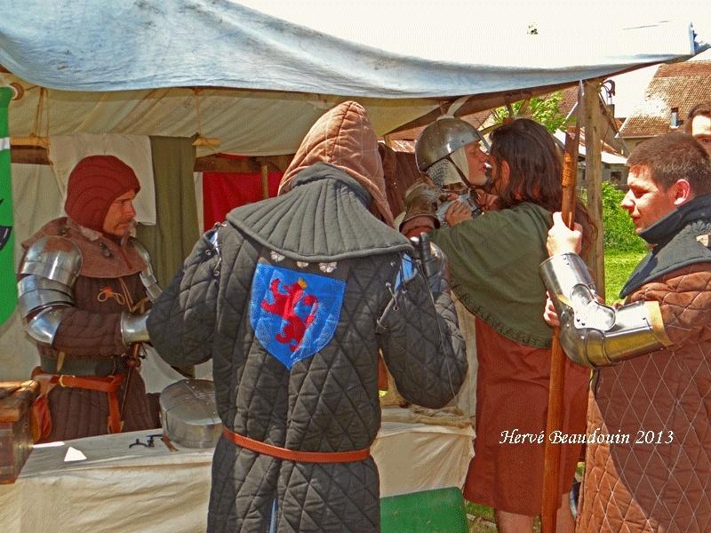 Fête médiévale, Les Aynans (Haute-Saône) Dsc06822