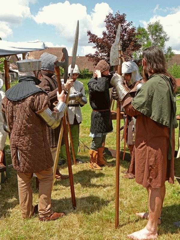 Fête médiévale, Les Aynans (Haute-Saône) Dsc06823