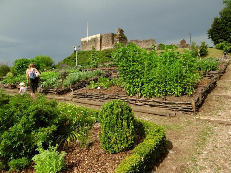 Le château d'Epinal hier Dsc07320