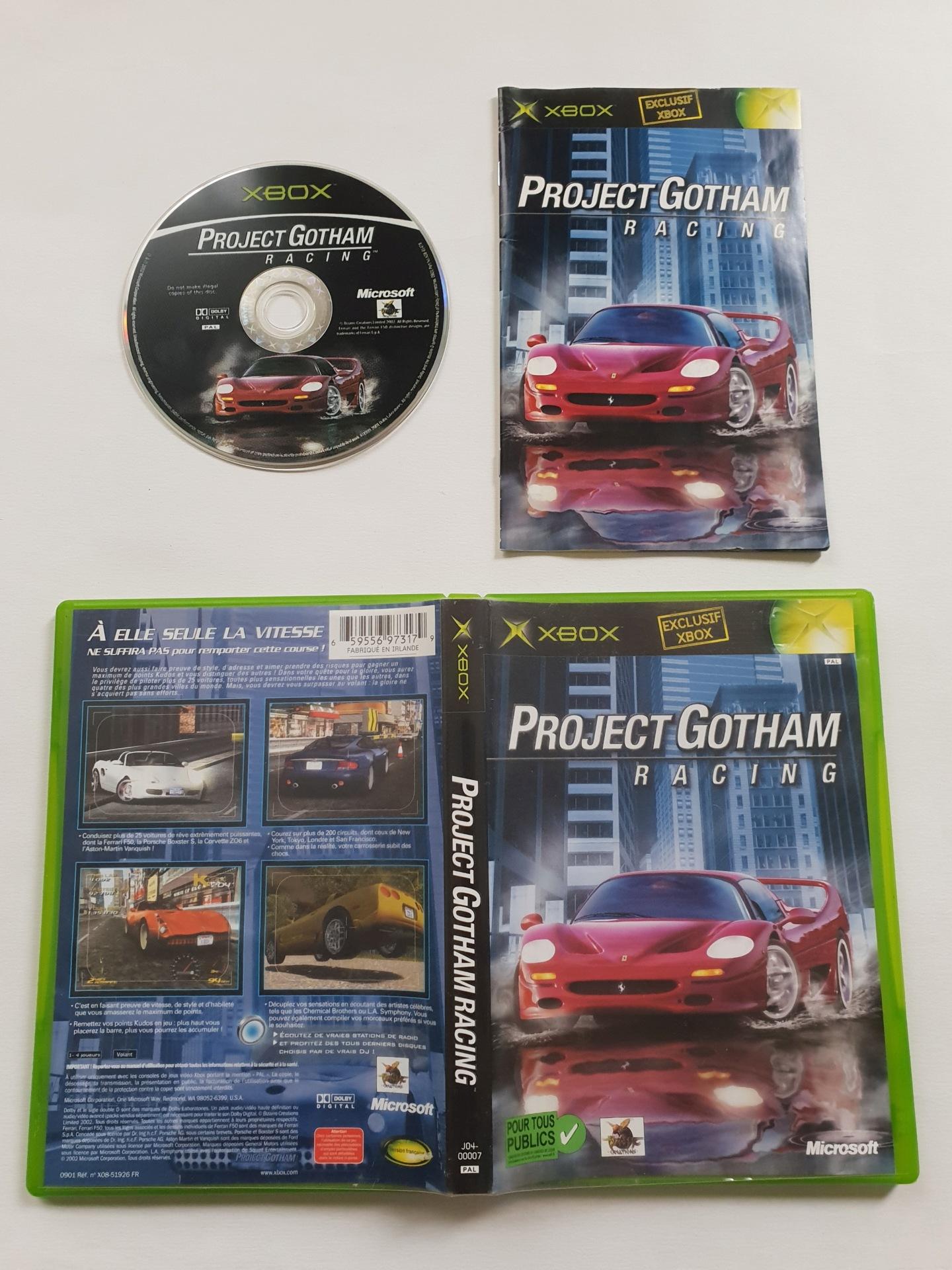 Project Gotham Racing Projec15