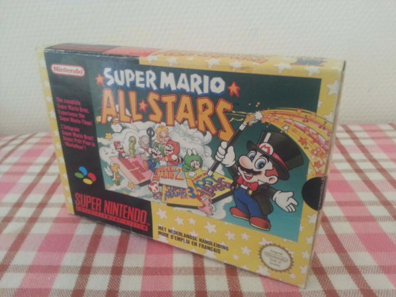 Super Mario All Stars Super Nintendo SNES Complet Boite notice S-l16012