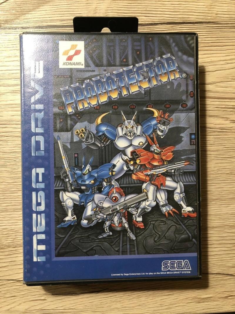Sega Mega Drive Probotector Complet S-l16017