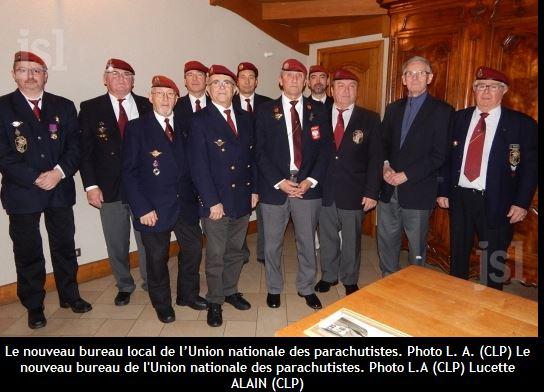 Le nouveau bureau local de l'Union nationale des parachutistes de Montcenis Photo_10