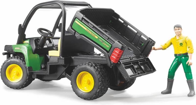 GATOR XUV 855D 1/16ème (Bruder 02490) Brud310