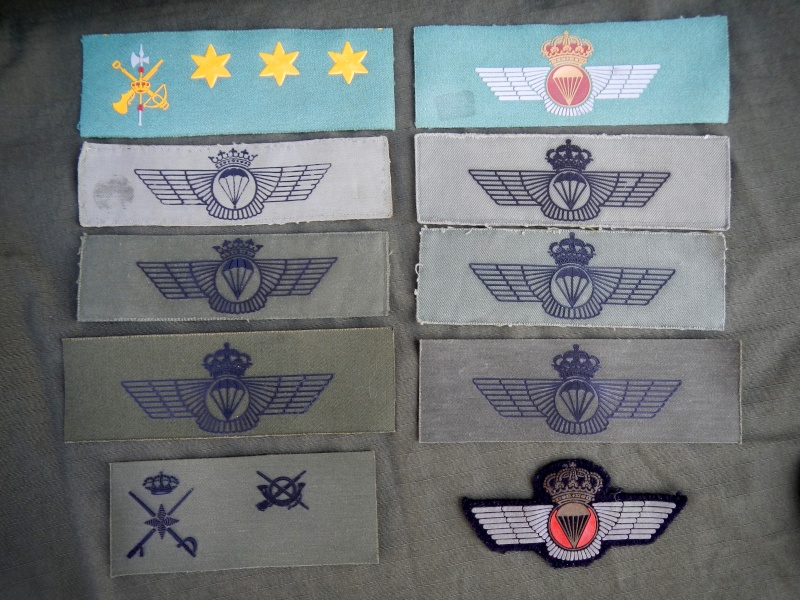 Spanish  Para patches Dscn0419