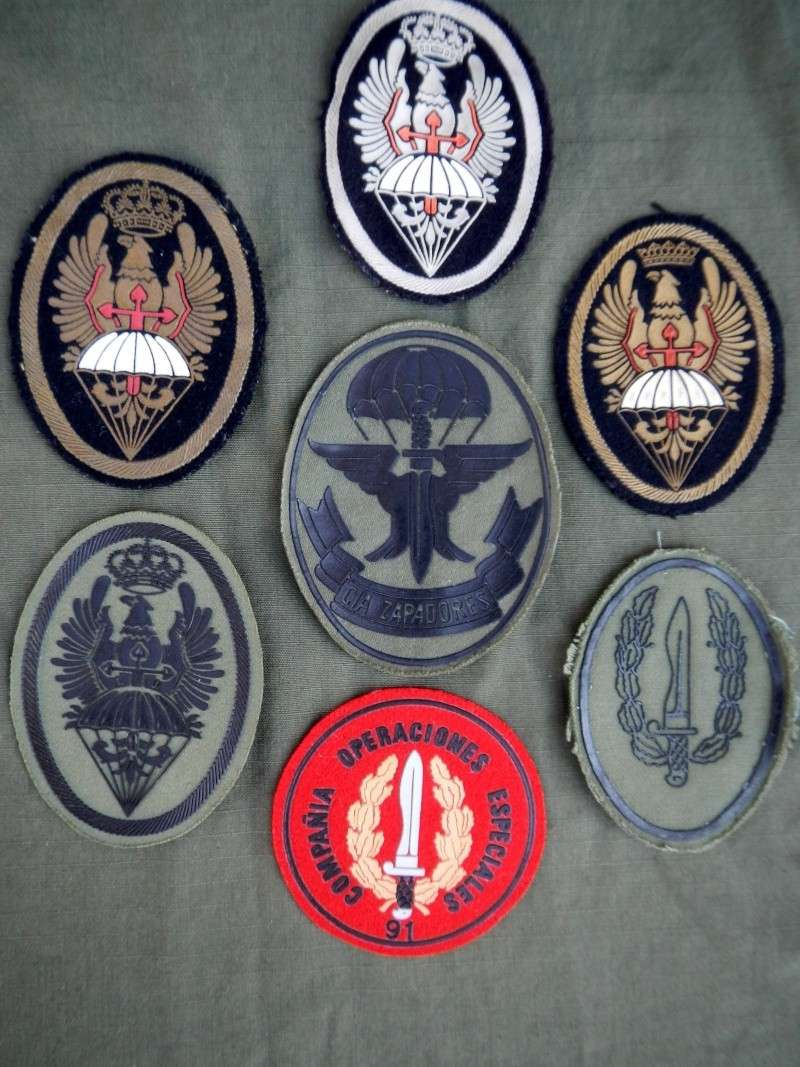Spanish  Para patches Dscn0422