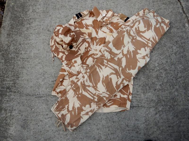 Desert Shirt-British Desert DPM Style. Romani23