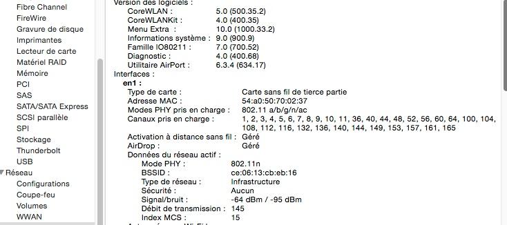 carte wifi Asus PCE-AC68 sur Yosemite Sans_t10