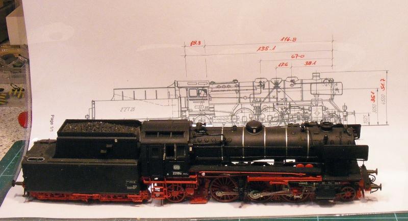 23 001 DRG - Einzelgänger mit Serien-Erfolg bei DR und DB Dscf4942