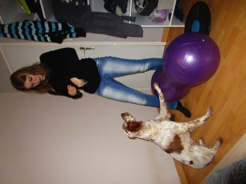activité - La proprioception = prise de conscience de son corps dans l'espace chez le chien - Page 4 Img_0310