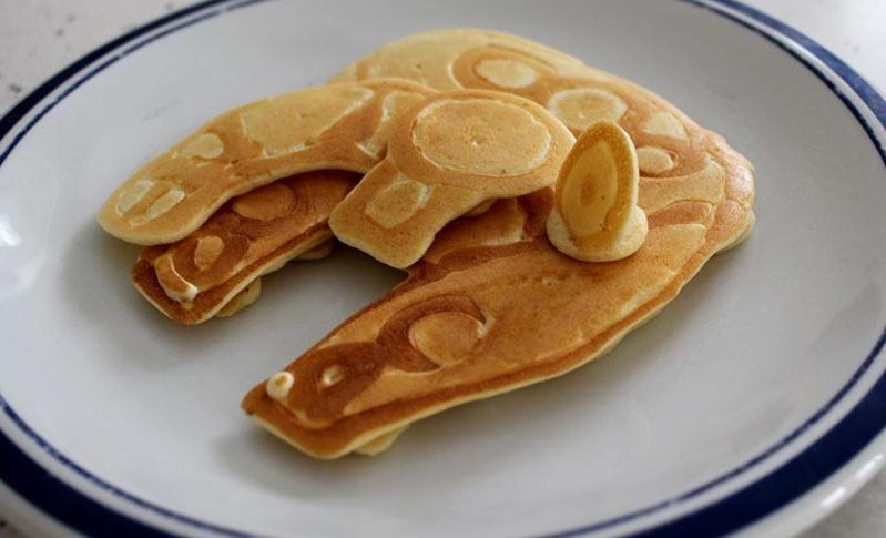 OT Star Wars Pancakes. M-falc10