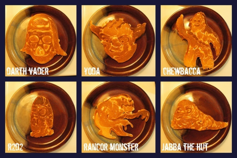 OT Star Wars Pancakes. Shield11