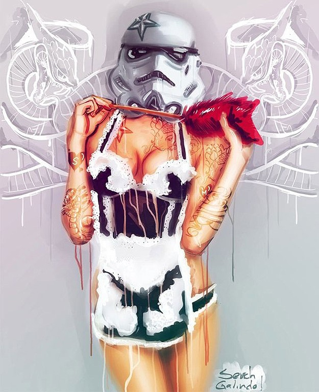 Star Wars - The Cool Weird Freaky Creepy Side of The Force - VOL 2 - Page 2 Tattoo10