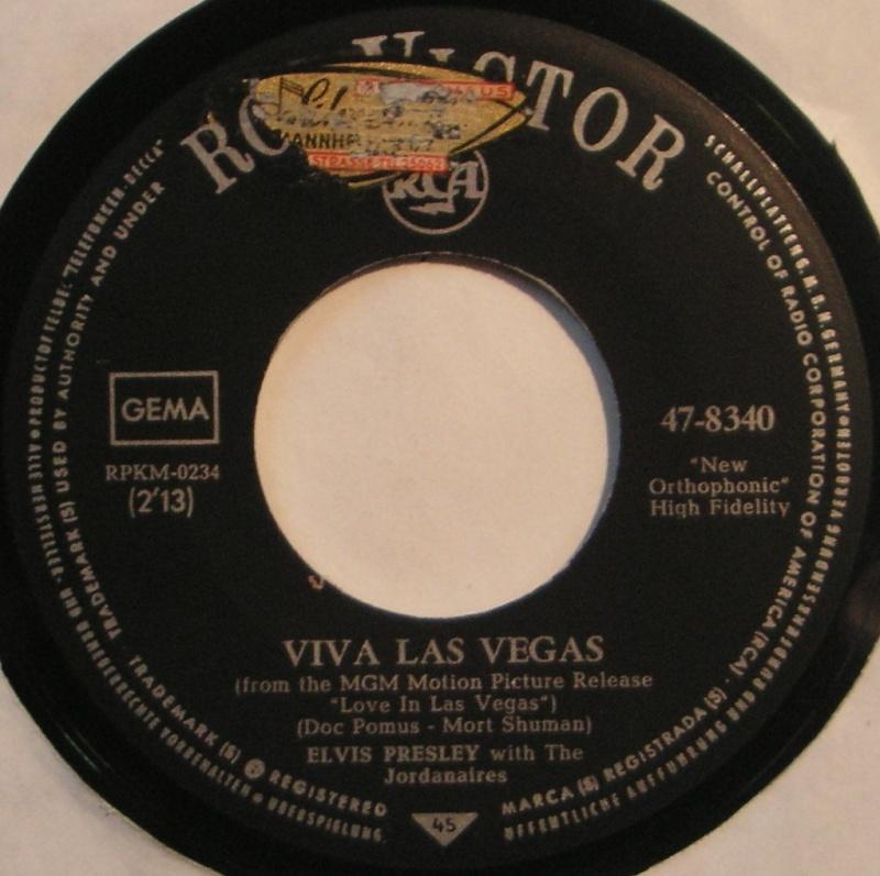 Viva Las Vegas / What' d I Say 15b10