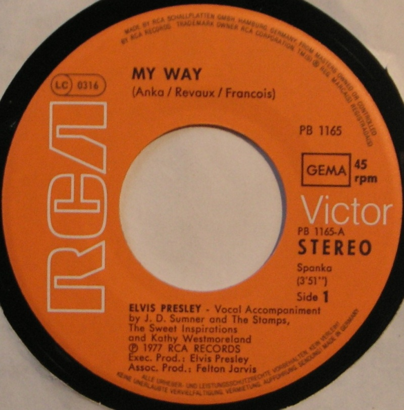 My Way / America (The Beautiful) 16a10