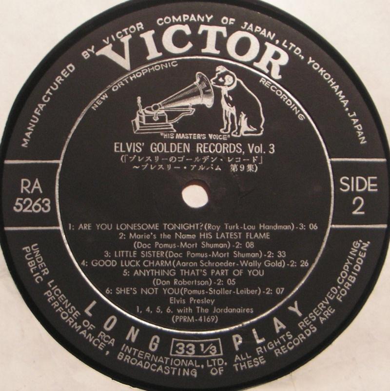 ELVIS' GOLDEN RECORDS VOL. 3 1f10