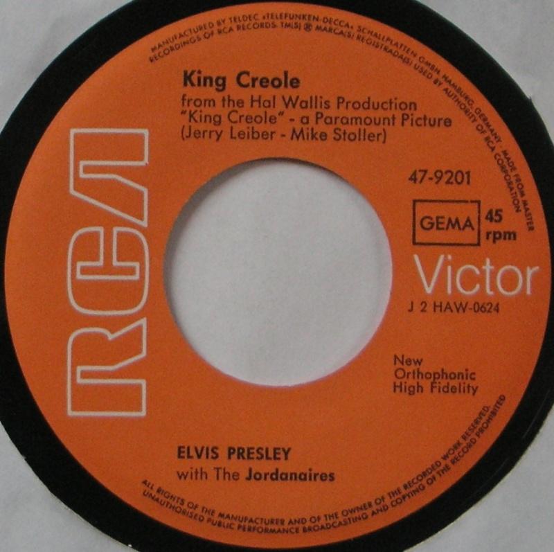 King Creole / Dixieland Rock 21a10
