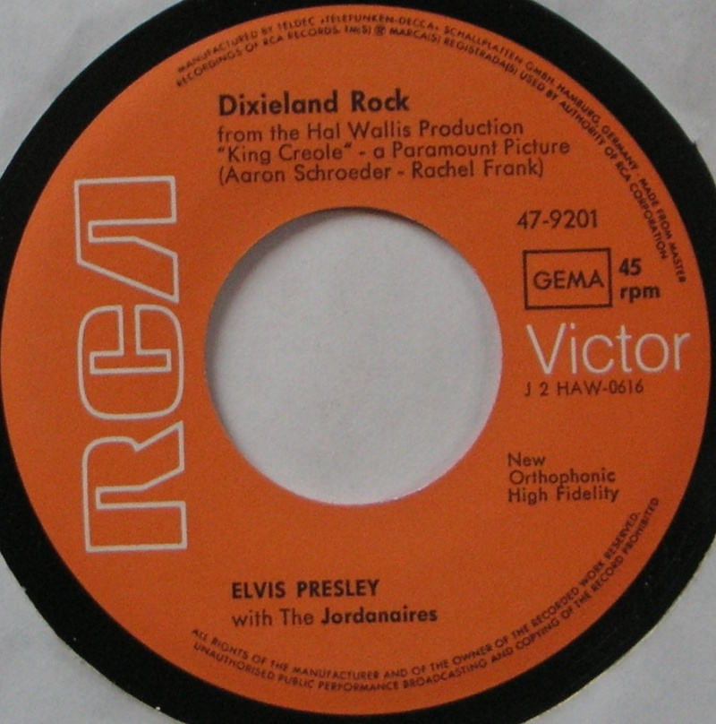 King Creole / Dixieland Rock 21b10