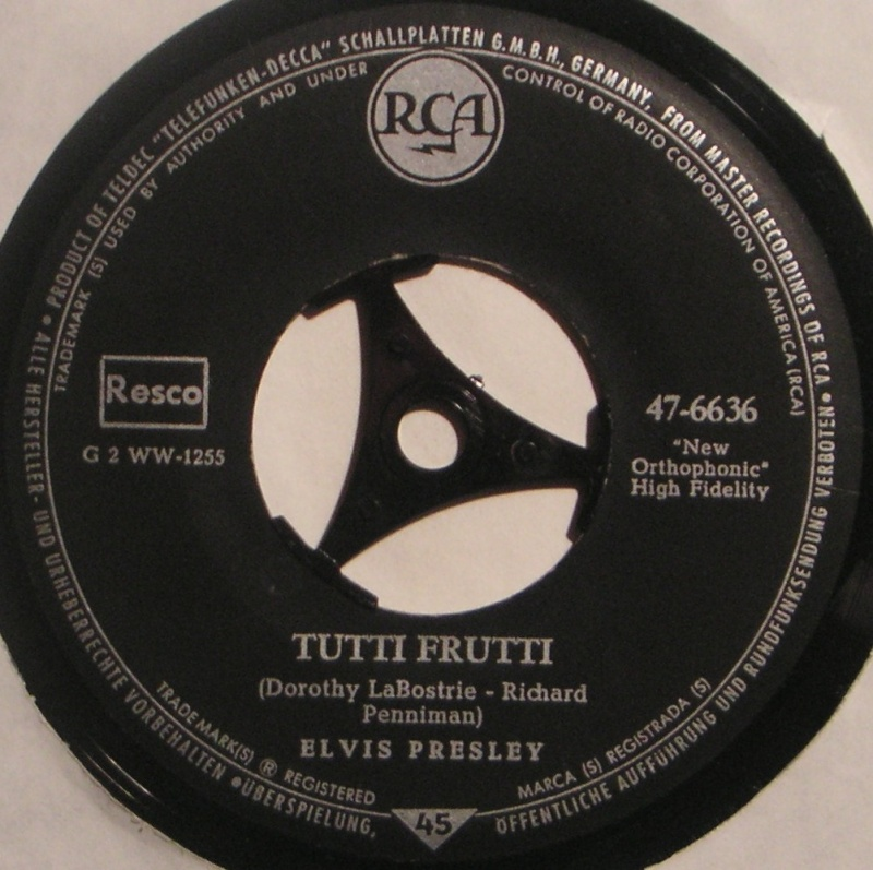 Blue Suede Shoes / Tutti Frutti 26c10