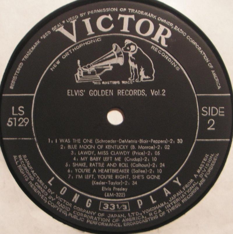 ELVIS' GOLDEN RECORDS VOL. 2 2d11
