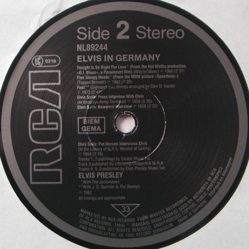 TAKEOFF - ELVIS IN GERMANY 5c10