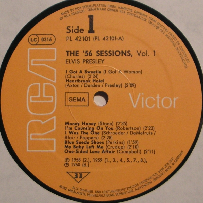 THE '56 SESSIONS Volume 1 7b10