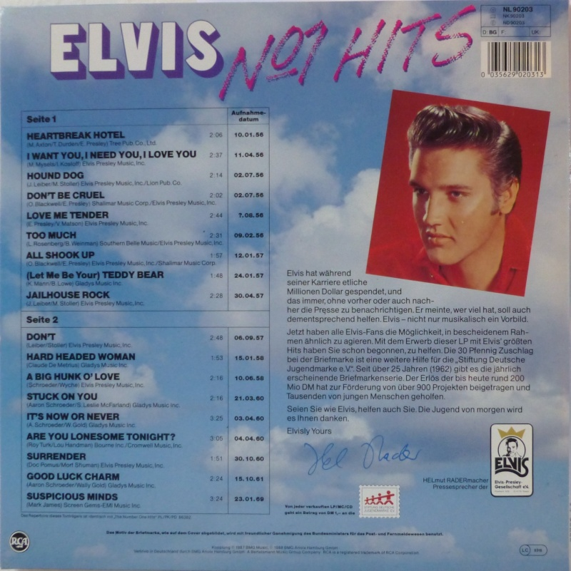 ELVIS NO.1 HITS P1000911