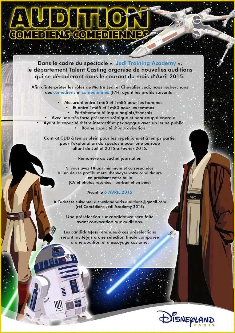 """[Spectacle] """"Jedi Training Academy"""" à Videopolis (depuis le 11 juillet 2015) - Page 6 44721810"""