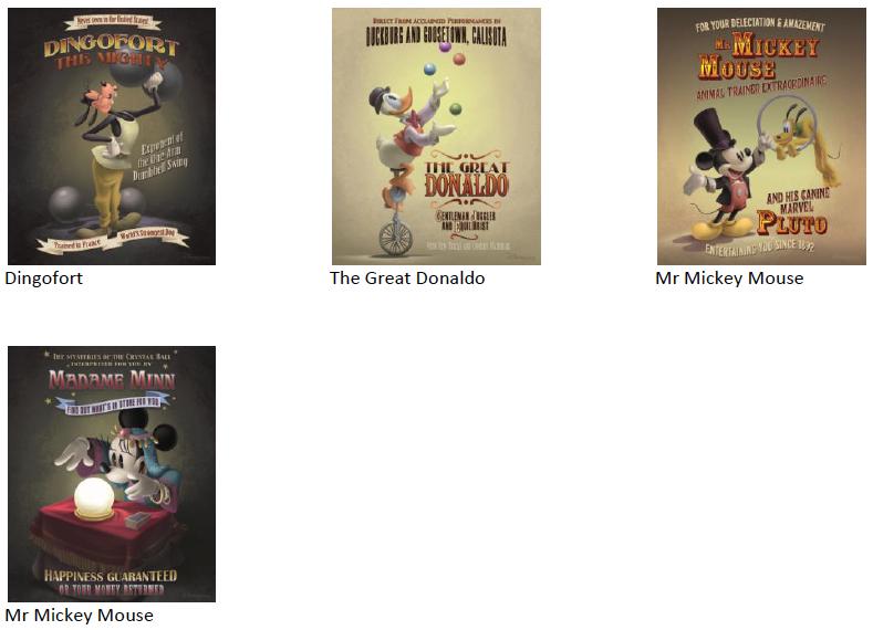 [Nouveauté merchandise] The Art of Disney On Demand (Disney Gallery à Disney Village) - Page 4 Disney10