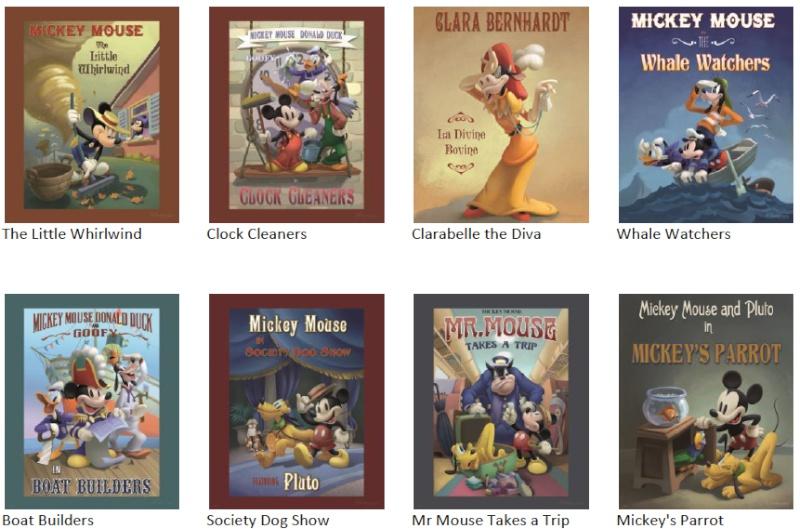 [Nouveauté merchandise] The Art of Disney On Demand (Disney Gallery à Disney Village) - Page 4 Meet110