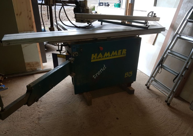 Rénovation Toupie Scie Hammer B3 B310