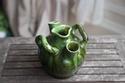 Green glazed pots - Belgium Art Pottery (not Farnham) Img_9610