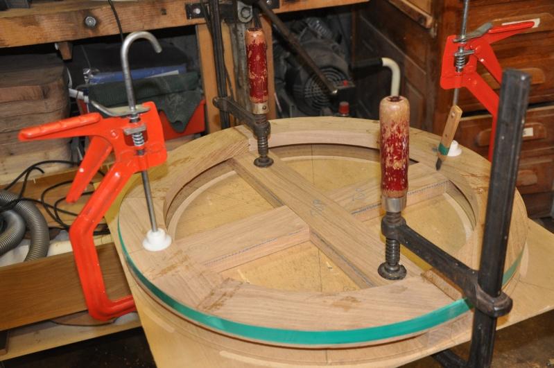 Fabrication d'un plateau  en bois pour table de bistrot - Page 2 02713